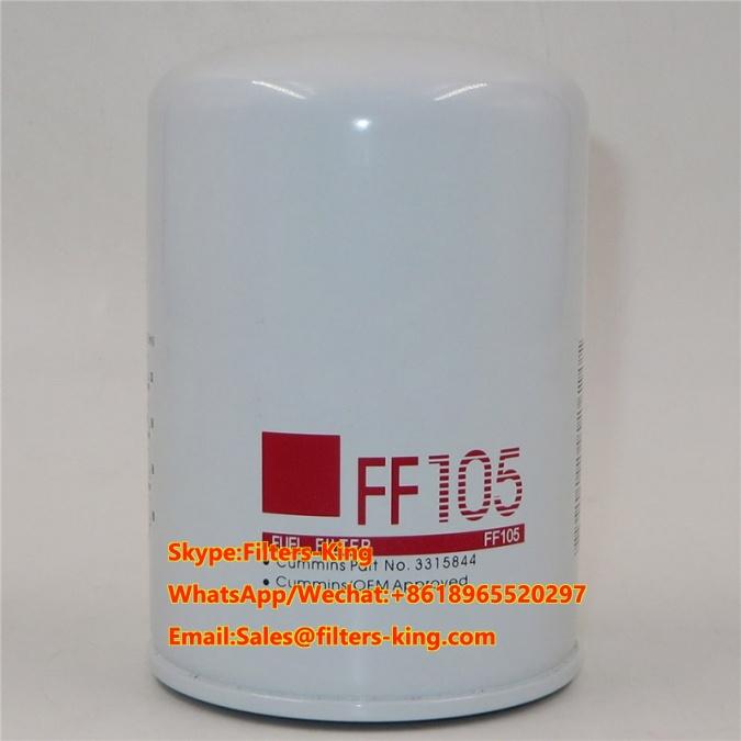 NEW GENUINE FLEETGUARD SPIN ON FUEL FILTER PN FF105