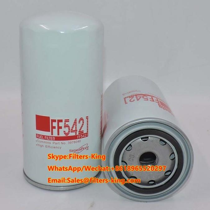 2//PACK Fleetguard FS19912 Fuel Filters Xref 86752 P550914 33752 PS10791 L8569F